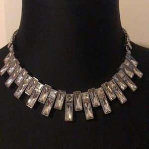 White House Black Market silver necklace NWT